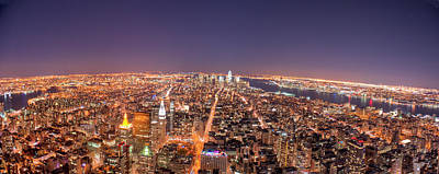 Photograph - Empire State Building 86th Floor by James Dibianco Jr