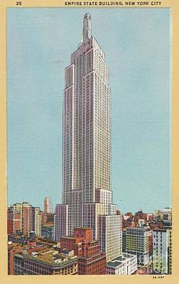 Photograph - Empire State Building by Flavia Westerwelle