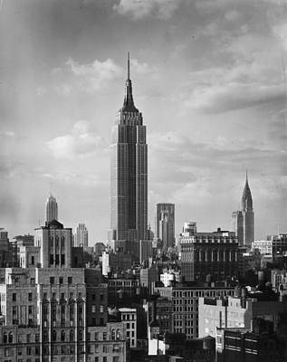 Photograph - Empire State Building by Nat Norman