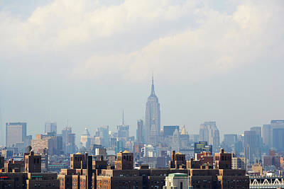 Photograph - Empire State Building Seen From Lower by Ryan Mcvay