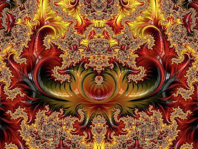 Digital Art - Empirically Envisioned Abstract by Georgiana Romanovna
