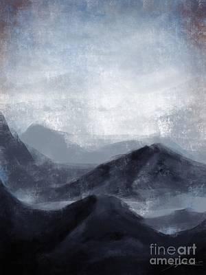 Digital Art - Emptiness by Curiobella- Sweet Jenny Lee