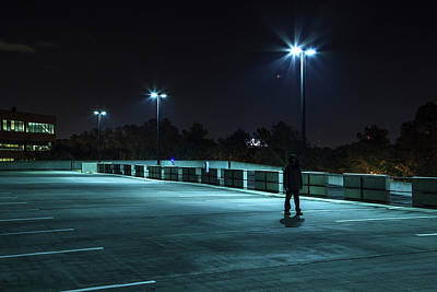 Photograph - Emptiness by Eric Christopher Jackson