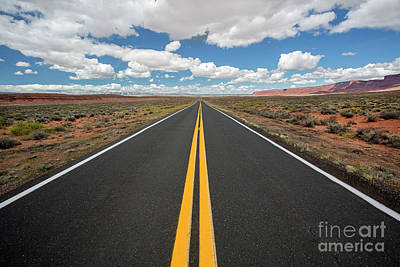 Photograph - Empty Highway by Martin Konopacki