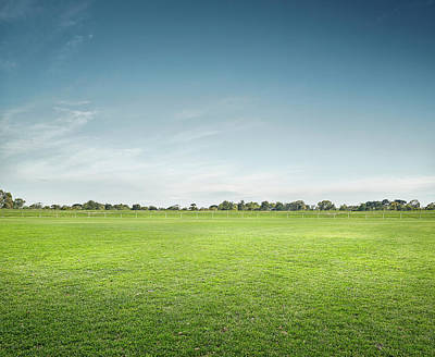 Photograph - Empty Sports Ground by Aaron Foster