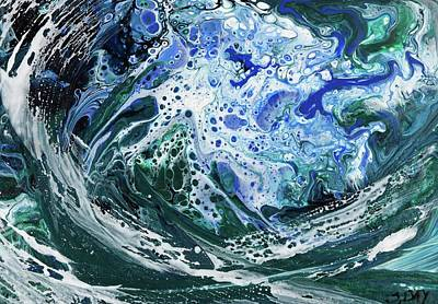 Painting - Enchanted Wave by Sandra Day