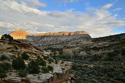Photograph - End Of The Day At Colorado National Monument by Ray Mathis