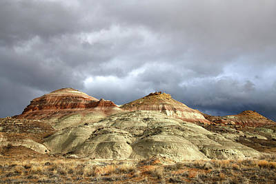 Photograph - End Of The Storm Over Ruby Mountain by Ray Mathis