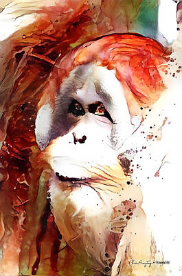Painting - Endangered by Chris Armytage