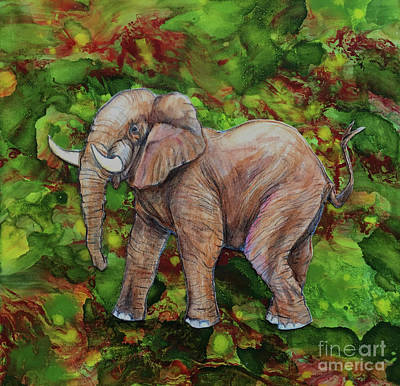 Painting - Endangered by Shelly Leitheiser