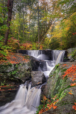 Photograph - Enders Falls Autumn 2018 by Bill Wakeley
