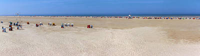 Photograph - Endless Beach Of Amrum by Sun Travels