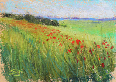 Painting - Endless Meadow by Susan Jenkins