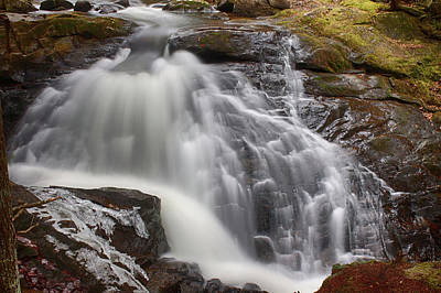 Photograph - Enfield Falls In New Hampshire by Jeff Folger