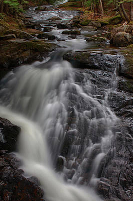 Photograph - Enfield New Hampshire Falls by Jeff Folger