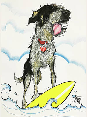 Drawing - Engels 2639 by John LaFree