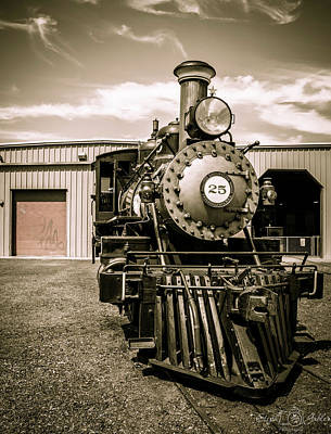 Photograph - Engine 25 by Steph Gabler