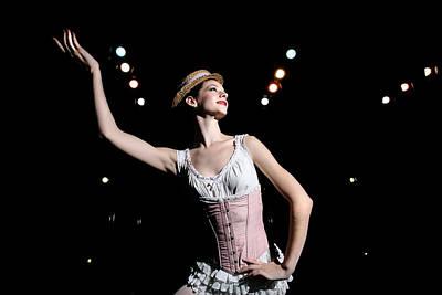 Photograph - English National Ballet School Rehearse by Dan Kitwood