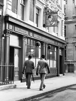 Pub Photograph - English Pub Dedicated To The Memory Of by Keystone-france