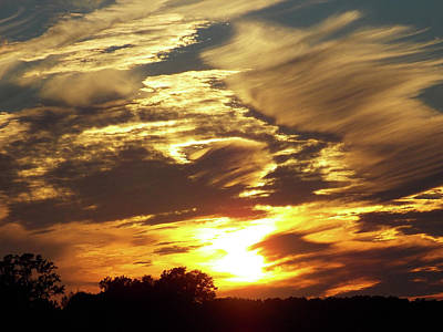 Photograph - Enjoy The Autumn Sky by Matthew Seufer