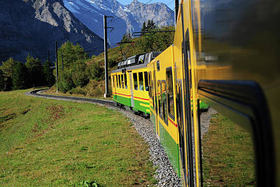 Photograph - Enjoy Traveling By Train - Xlarge by Phototalk