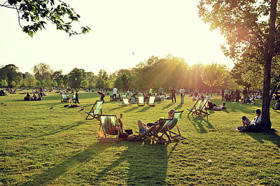 Hyde Park Wall Art - Photograph - Enjoy Your Weekend by Thank You For Choosing My Work.