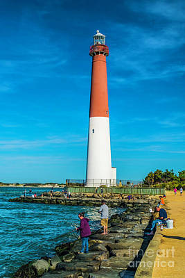 Photograph - Enjoying Barnegat Light by Nick Zelinsky