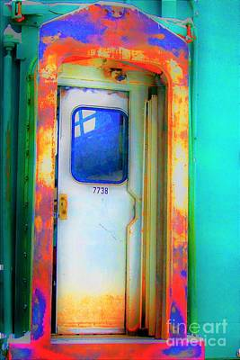 Photograph - Enter In At Old 7738 by Merle Grenz
