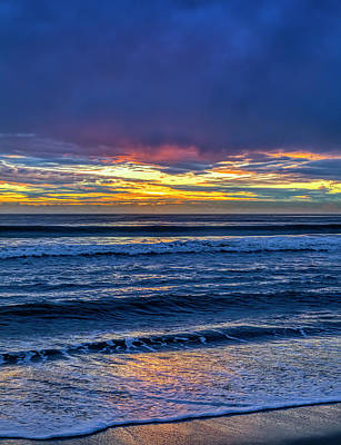 Photograph - Entering The Blue Hour by Gene Parks