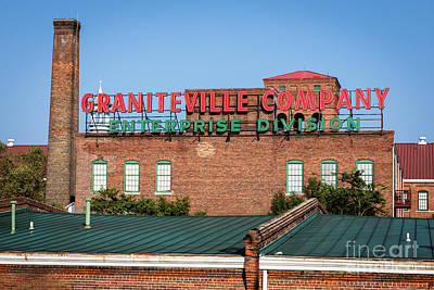 Photograph - Enterprise Mill - Graniteville Company - Augusta Ga 2 by Sanjeev Singhal
