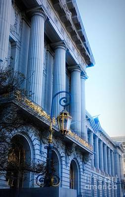 Photograph - Entrance City Hall San Francisco Ca by Chuck Kuhn