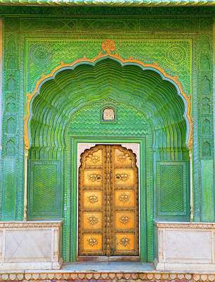 India Photograph - Entrance To Palace by Grant Faint