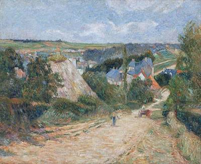 Lamborghini Cars - Entrance to the Village of Osny 1882 83 by Paul Gauguin