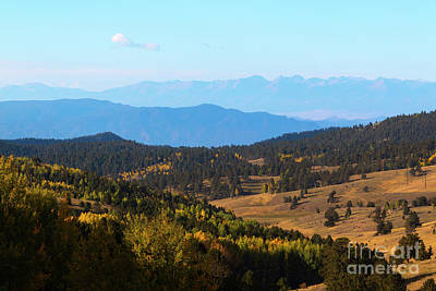 Photograph - Entry Phantom Canyon Colorado In Autumn by Steve Krull