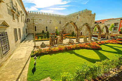 Photograph - Episcopal Palace And Arcade by Benny Marty