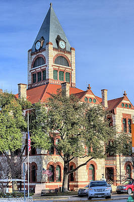 Photograph - Erath County Courthouse by JC Findley