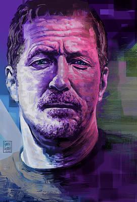 Eric Clapton Portrait Original