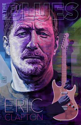 Eric Clapton Poster Art Original