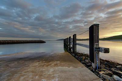 Mixed Media - Eriskay Landing Bay by Smart Aviation