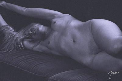 Erotic Nude Julie Darling 0893 Original