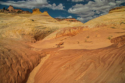 Photograph - Escalante Color-scape #1 by Doug Scrima