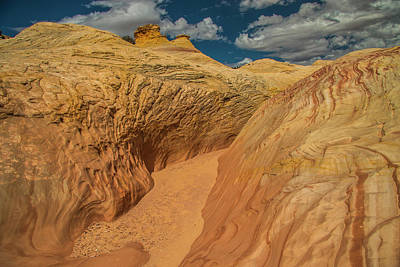 Photograph - Escalante Color-scape #2 by Doug Scrima