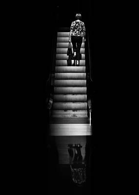 Photograph - Escalator No 2 by Brian Carson