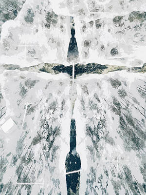 Digital Art - Escape by Payet Emmanuel