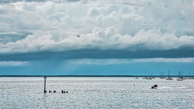 Photograph - Escaping The Passing Storm by Gary Slawsky