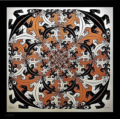 Surrealism Royalty-Free and Rights-Managed Images - Escher 65 by Rob Hans