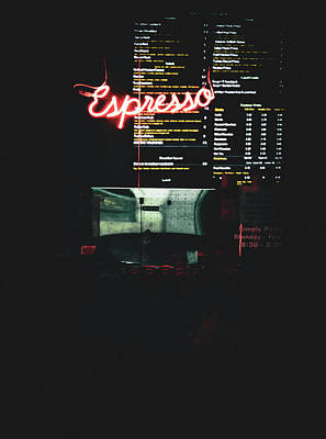 Photograph - Espresso by David Hagerman