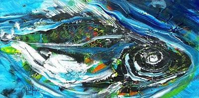 Painting - Essence Of Snook by J Vincent Scarpace