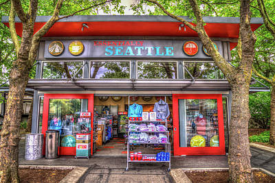 Photograph - Essentially Seattle Gift Shop by Spencer McDonald