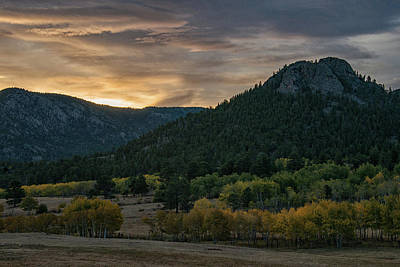 Photograph - Estes Valley Sunrise by Darlene Bushue